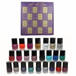 Pretty Professional Nail Polish Advent Calendar with 24 Nail Polishes