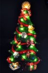 **** Kingfisher Metallic Tree Light Battery Operated [MSD4B]