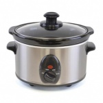 Kitchen Perfected 1.5Ltr Mini Oval Slow Cooker