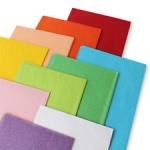 County 5 Sheets Tissue Paper 50x75cm - Assorted Colours