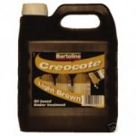 Bartoline Creocote Light Brown 4Ltr