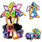 76pcs Magnetic Educational Building Block Toys