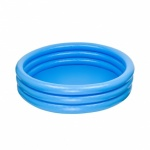 45'' x 10'' 3 RING CRYSTAL BLUE POOL (NP) IN POLYBAG.