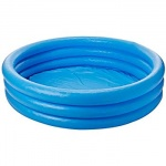 58'' x 13'' 3 RING CRYSTAL BLUE POOL (NP) IN SHELF BOX .