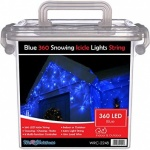 360 LED Snowing LED Icicle Chaser Lights
