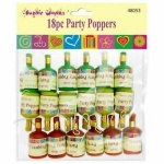 18pc Party Poppers