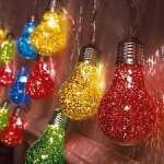 Happy Birthday Coloured Indoor LED String Lights