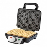 2 Slice Stainless Steel Waffle Maxer