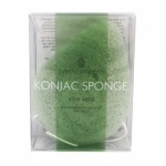 Pretty Smooth Pure Aloe Vera Konjac Sponge - Tear Drop