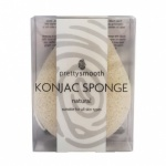 Pretty Smooth Pure Natural  Konjac Sponge - Tear Drop