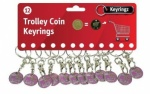 Trolley Coin ''Born To Shop'' - Pack of 12
