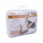 Electric Under Blanket Double 107x120cm- 3 Heat Settings