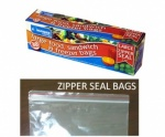 Kingfisher 25  Zipper Seal bags [JZ2A]