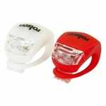 Rolson Tools Ltd 2pc Silicone Bike Light 61621