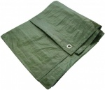 (Am-Tech) 24' x 18' TARPAULIN - GREEN S4930