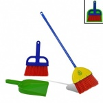 Leaf Cleaning Set (broom, dustpan & rake)