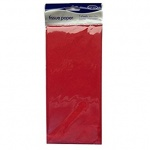County Acid Free Tissue Paper 5 sheets 50 x 75cm - Red