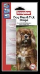Beaphar Dog Flea Drops - 12 weeks Protection - Small Dogs