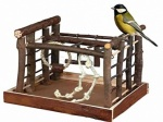 Blackspur Wooden Indoor NATURAL BIRD PLAYGROUND