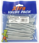 100mm Round Nails Extra Val (500g)