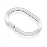 Shower Curtain Ring Clear