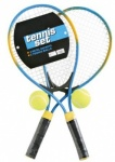 2 Player Metal Tennis Set In Nylon Zip Up Bag