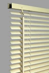 PVC Venetian Blind,Std Drop,Cream 90cm