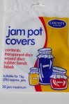 County Jam Pot Covers - 20 jars