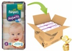 48x Pampers Active Fit, Midi, Size S3 (4-9kg)