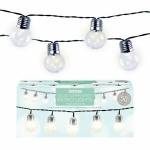 50LED Party String Light - W, White