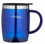 Thermos Cafe Translucent Desk Mug 450ml Blue