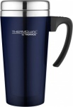 Thermos Cafe Translucent Travel Mug 420ml Blue