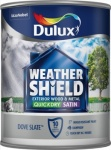 Dulux DU W/SHIELD QD SATIN DOVE SLATE 750ML