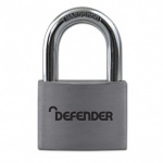 SQUIRE 30mm Aluminium Padlock Branded Defender