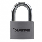 SQUIRE 40mm Aluminium Padlock Branded Defender