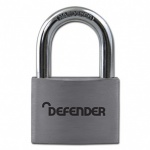 SQUIRE 50mm Aluminium Padlock Branded Defender