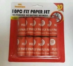 10pc Fly Paper Set Easy to Use