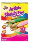 A3 20 Sheets Sketch Pad
