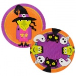 PACK OF 10 HALLOWEEN DESIGN 9''  PAPER PLATES