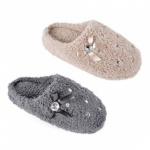 LADIES PLUSH MULE