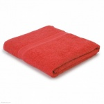 Premier collection bath sheet deep red