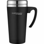 ThermoCafe Soft Touch Travel Mug DFR1000 Black 420ml