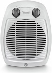 DeLonghi 2kW Upright Freestanding Fan Heater - White (HVA3222)