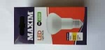 8w = 60w = xxx lumens - Maxim - LED - R63 - ES - PA - Pearl - Warm White - Shrink Wrapped 10's