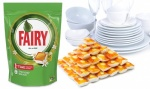 60 Fairy All in One Dishwasher Tablets - Orange