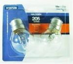 Status 18w = 23w - Halogen - Round - SBC - Clear - 2 pk - Blister Card