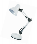 Blackspur E27 WHITE HOBBY DESK LAMP - 40W BB-DL205