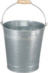 Highlands 12L Galvanised Metal Bucket #BUC05