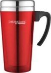 Thermos Cafe Translucent Travel Mug 420ml Red