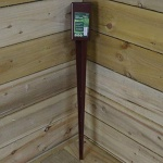 FENCE POST HOLDER 75 X 75 X 750MM
